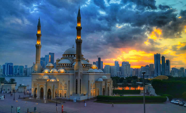 Sharjah City Mosque
