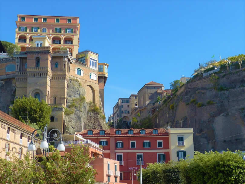 Sorrento town in Italy