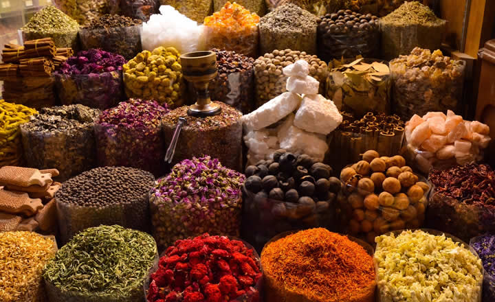 Middle East Souk Spices