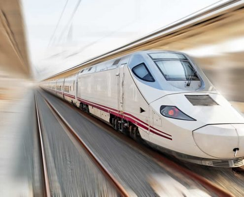 Spain Alvia High Speed Train