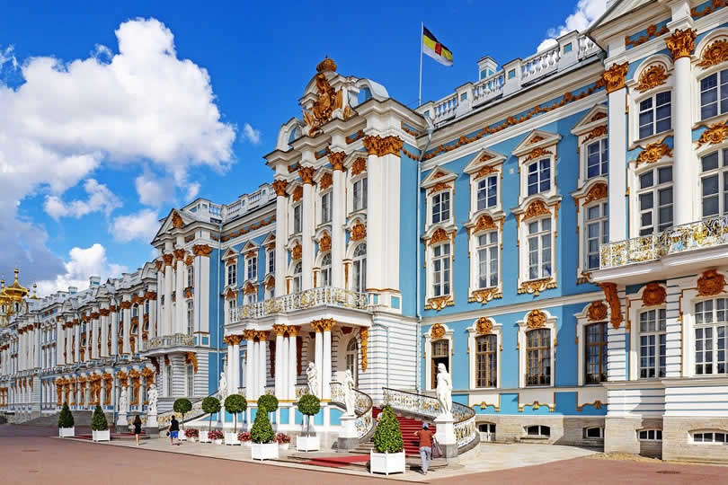 Catherine Palace in St Petersburg