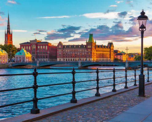 Stockholm Gamla Stan in Sweden