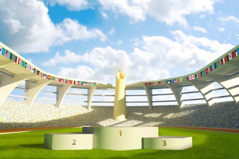 Summer Olympics stadium