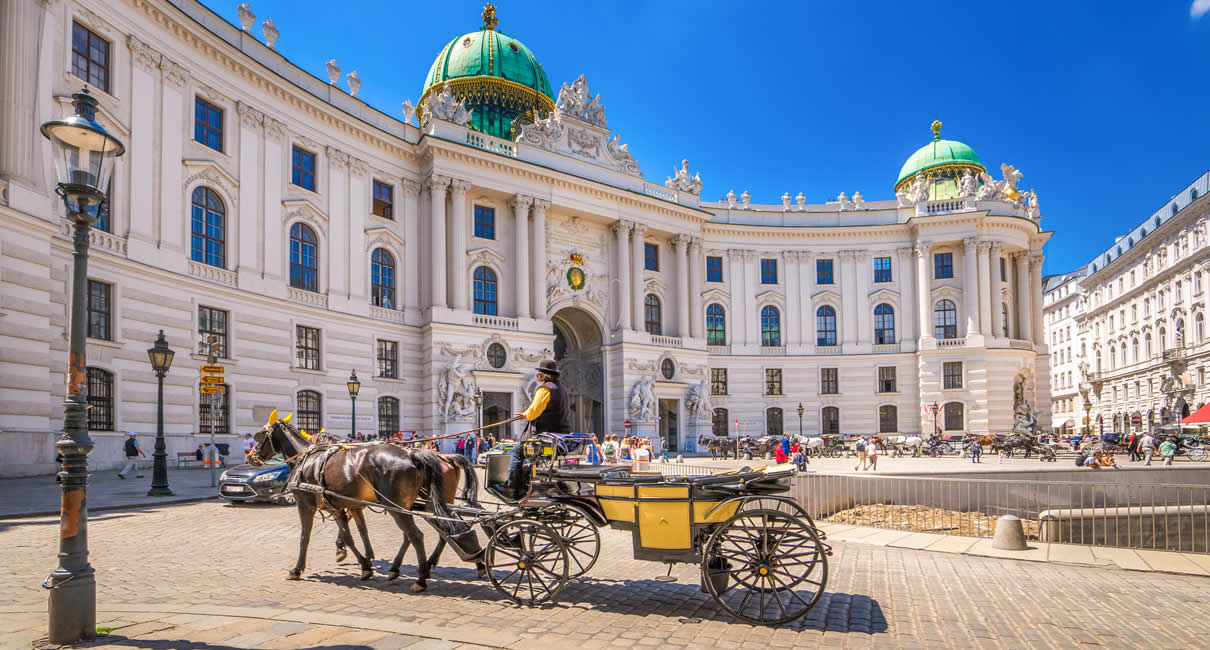 Vienna city centre horse ride