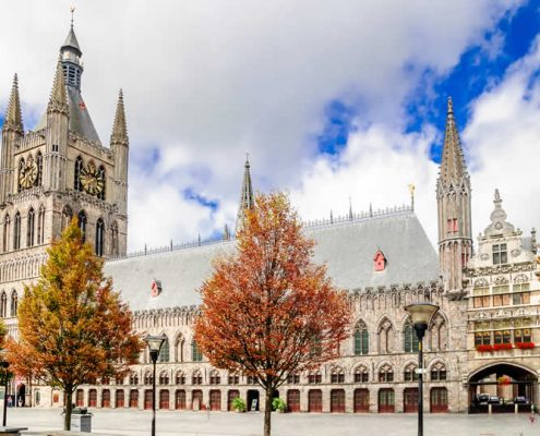 Ypres Cloth Hall and Belfort